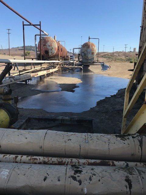 Oil spill at HVI Cat Canyon facility