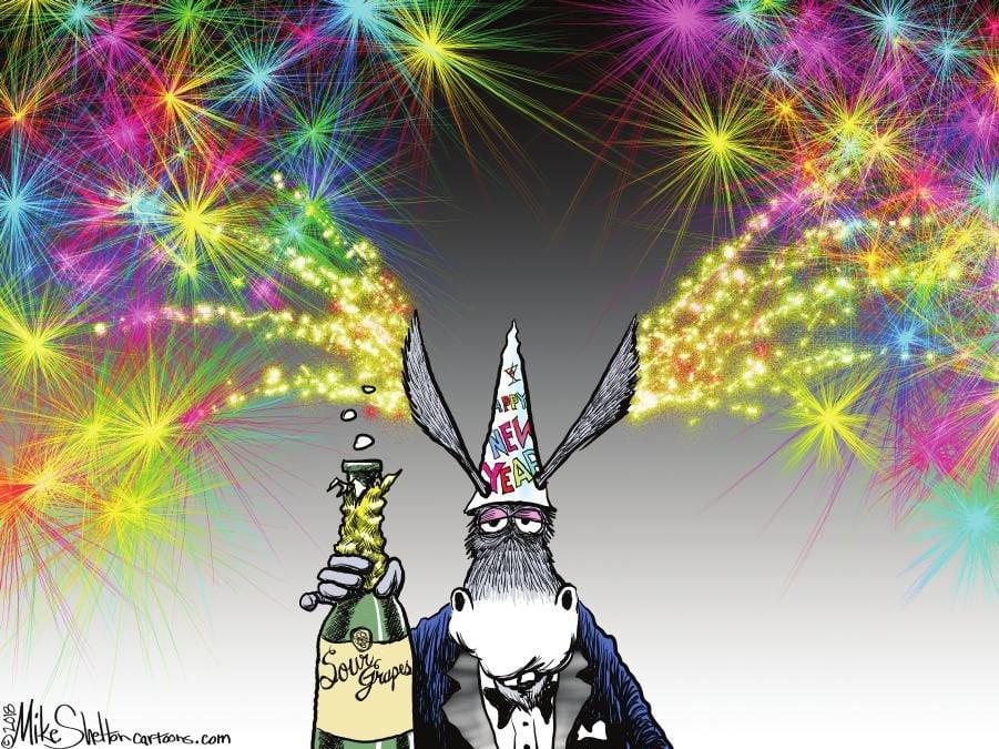 Cartoon: Democrats' New Year