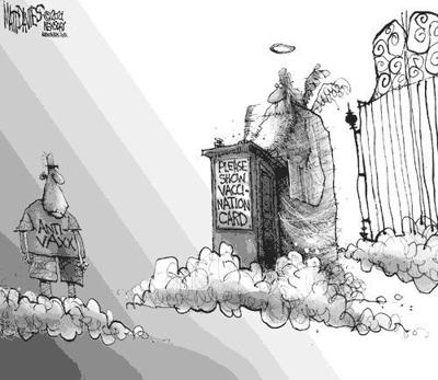 Editorial Cartoon: No admittance