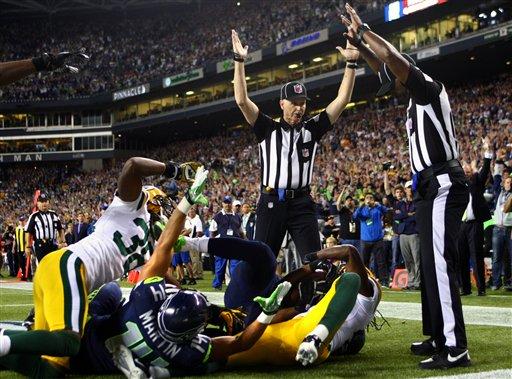 Packers Seahawks Football 6