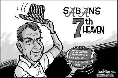 Editorial Cartoon: 7th Heaven