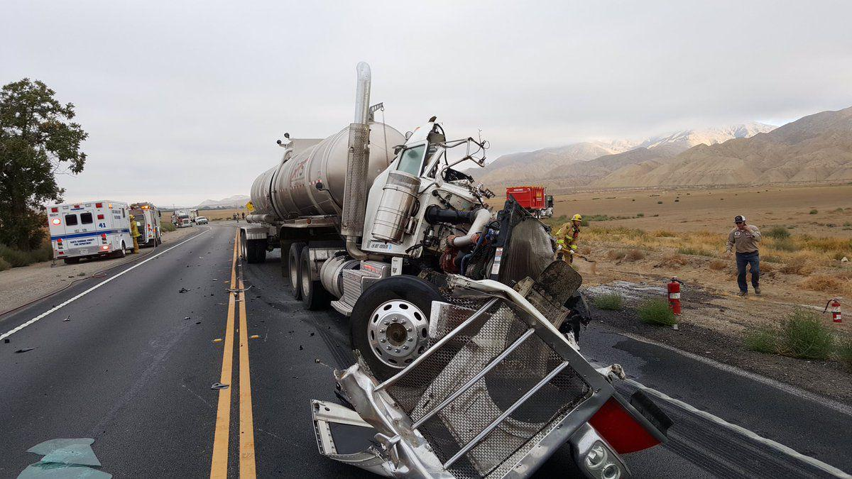 Driver identified in Hwy  166 crash of 5 big-rigs | Local