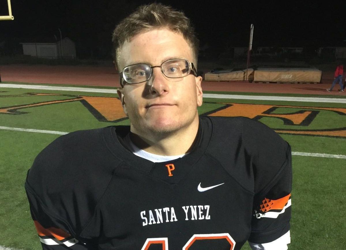 Alec Watson carries for Santa Ynez