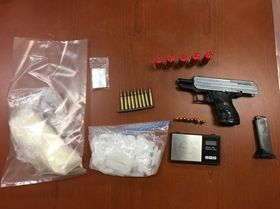 Items seized during Lompoc gang sweep