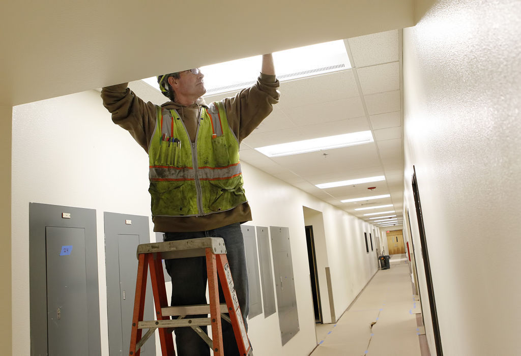 Interior Construction Of New SMPD Station Nearly Complete