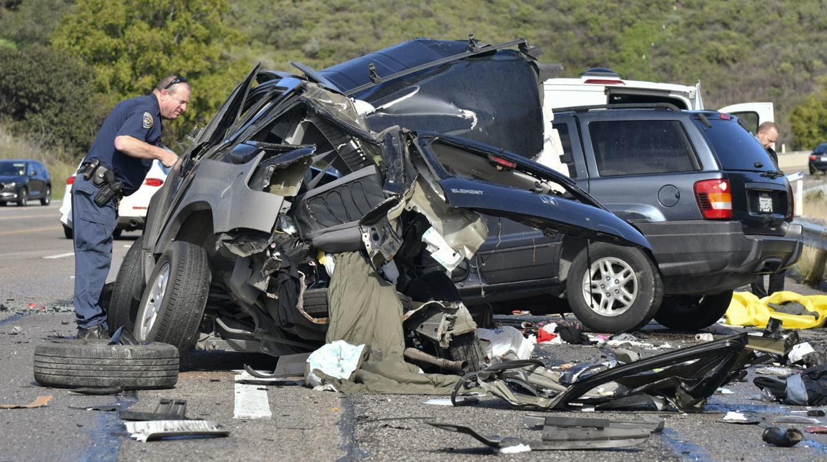 Buellton Man Porterville Woman Dead In Two Fatality Crash Near