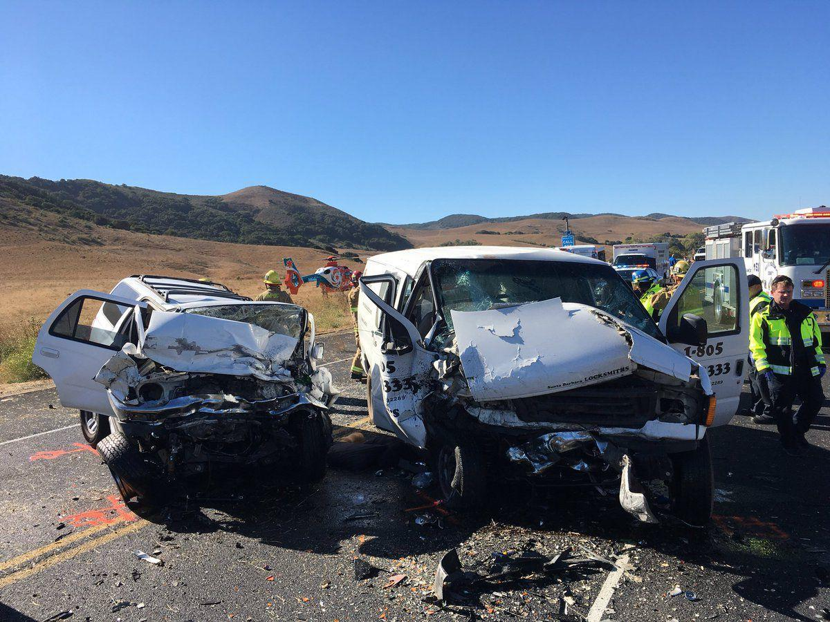 Fatal two-vehicle crash closes Hwy  1 south of Lompoc | Local News
