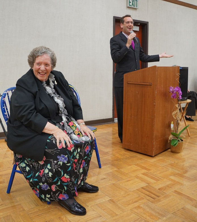 Sister Janet reception