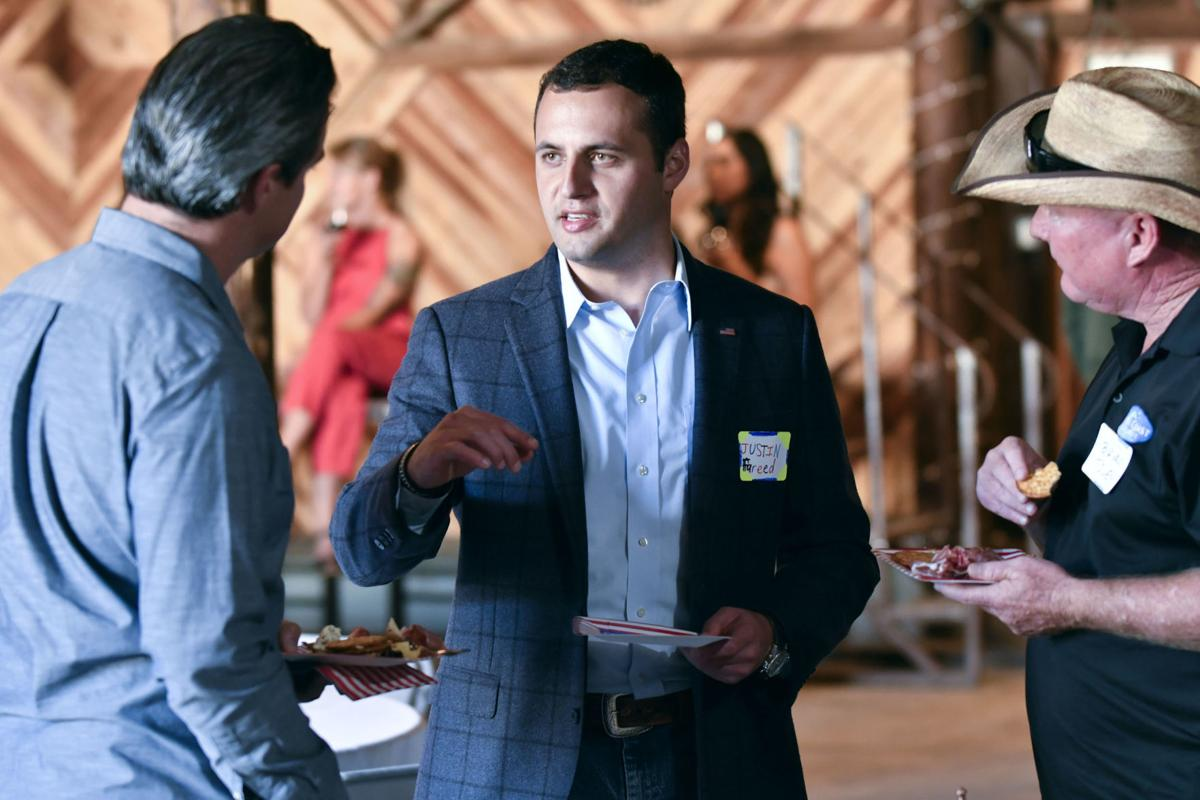 24th Congressional Candidate Justin Fareed Vows To Be Tough On Crime