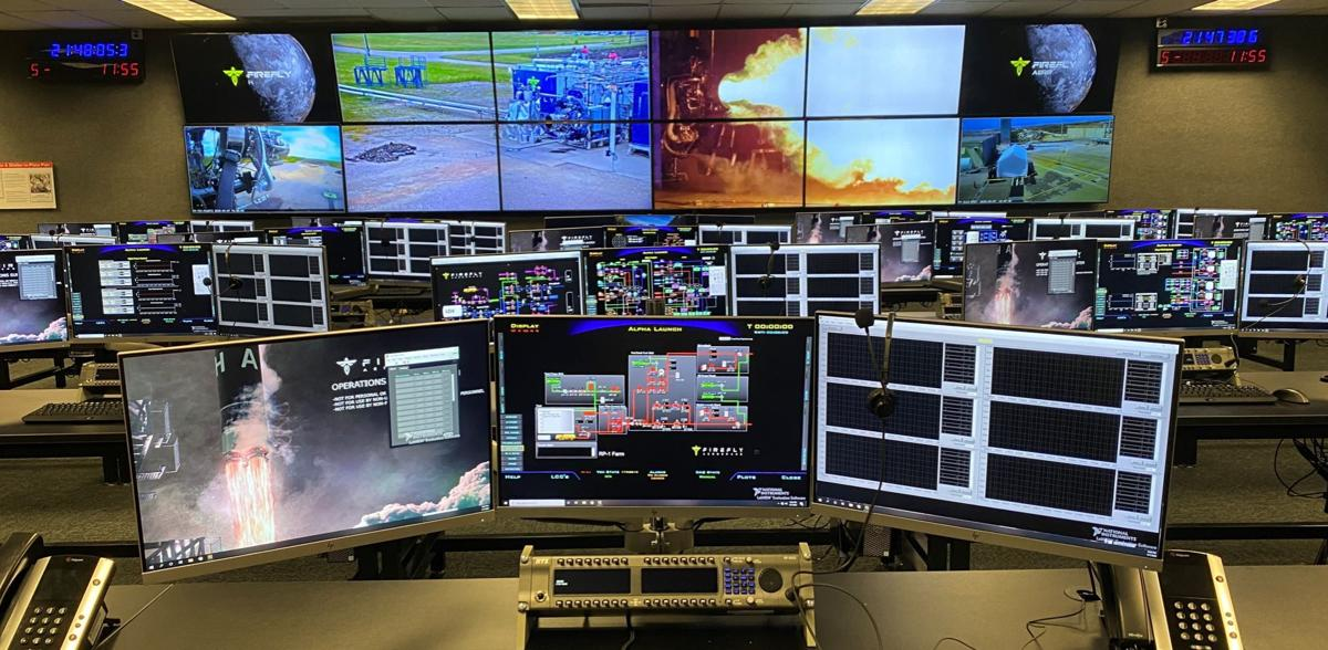 Firefly Alpha Launch Control Center