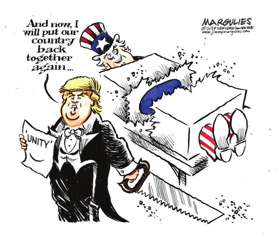 Cartoon: For my next trick ...