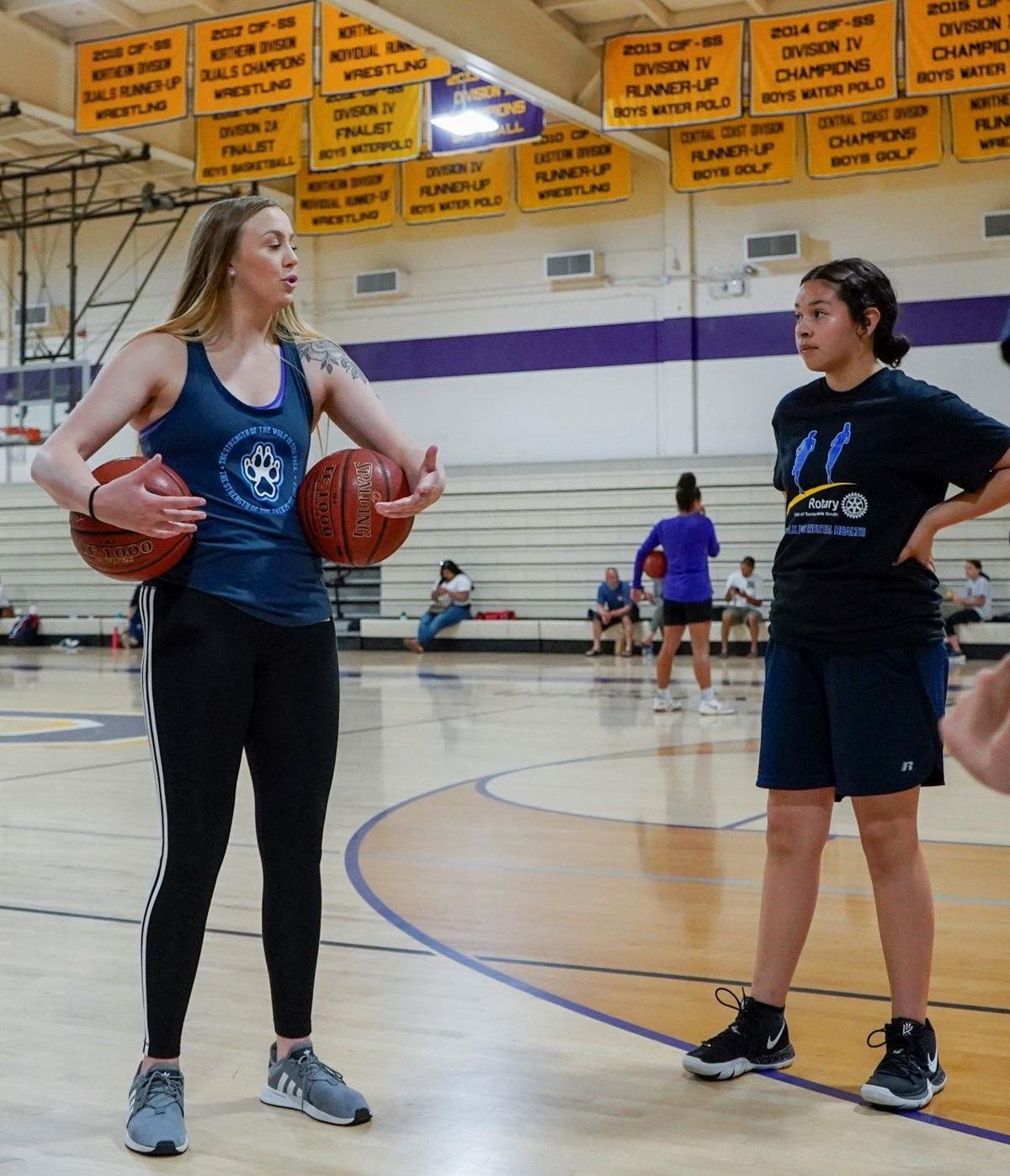 051119 Righetti Girls Basketball Camp 05