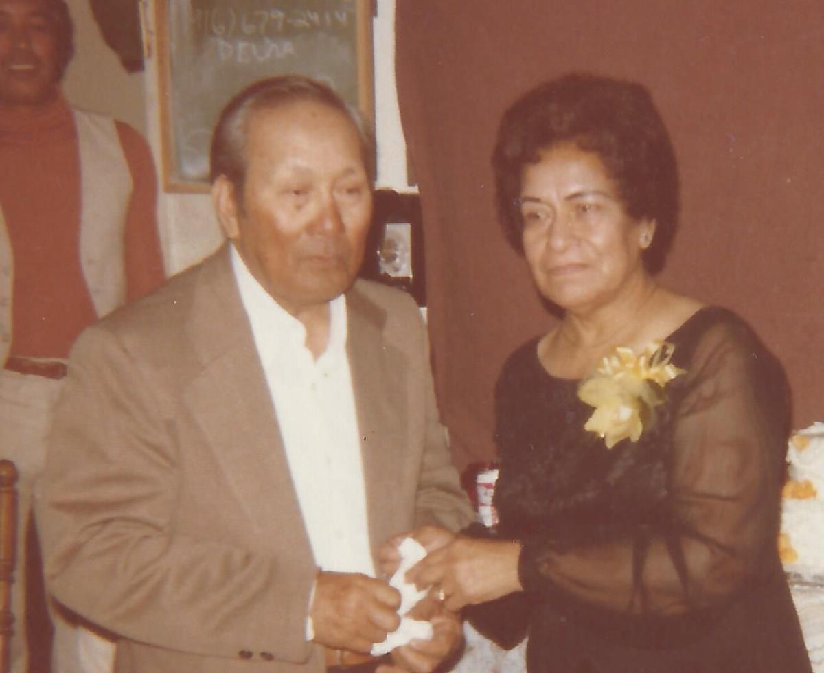 Santiago and Mary Salutan