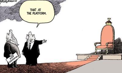 Editorial Cartoon: Platform