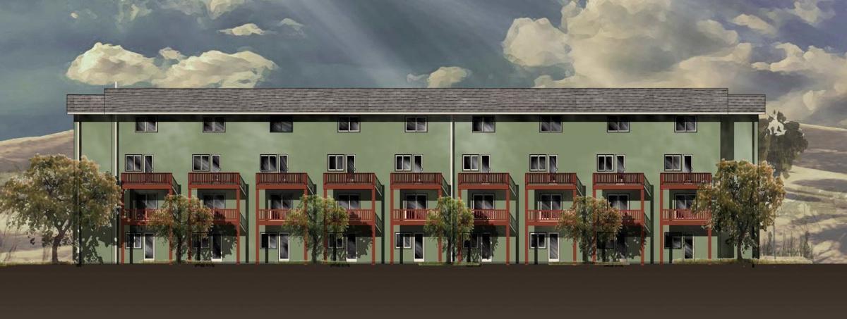St. George apartments-exterior design