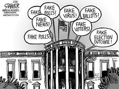 Editorial Cartoon: Fake!