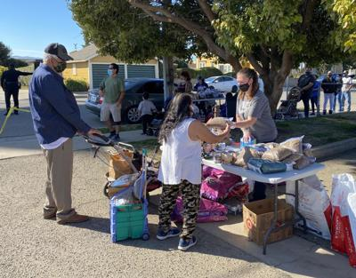 C.A.R.E.4Paws weekly food distribution event