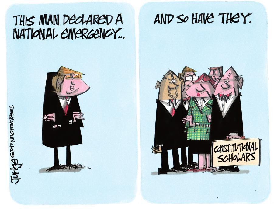 Cartoon: National emergency