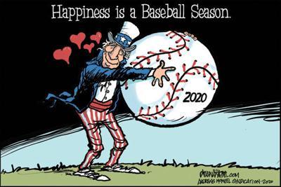 Editorial Cartoon: Baseball