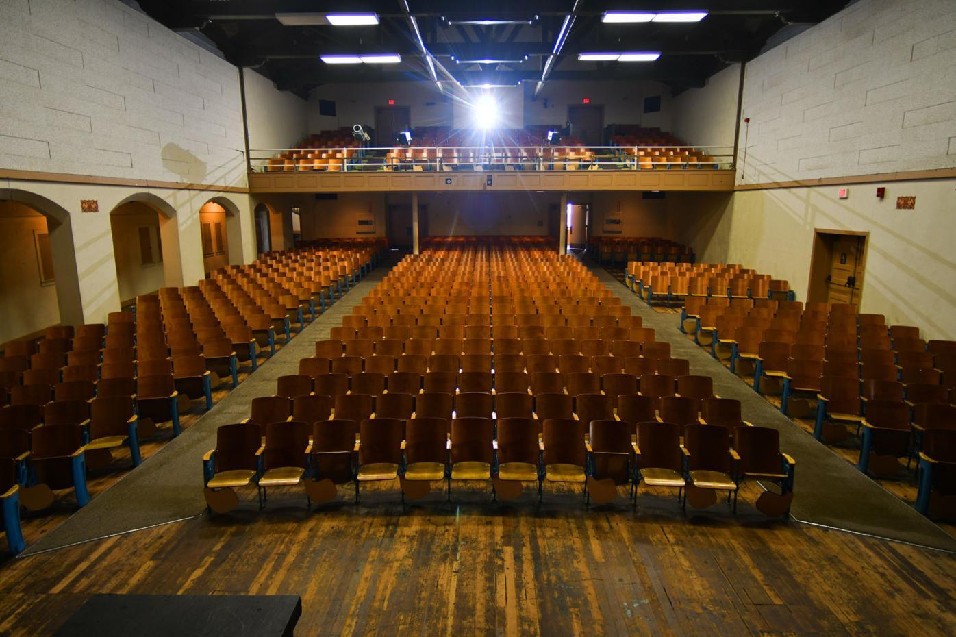 Ethel Pope Auditorium haunting 01