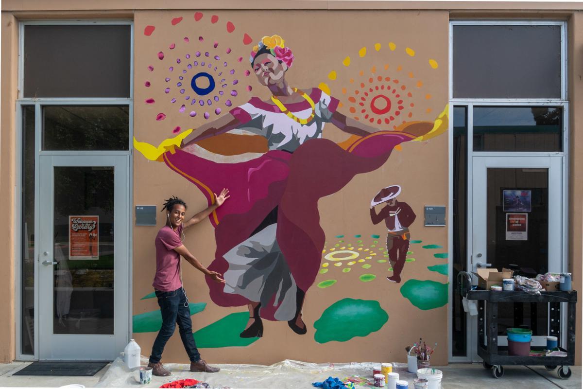 WSA-AHC-Sparkie & mural