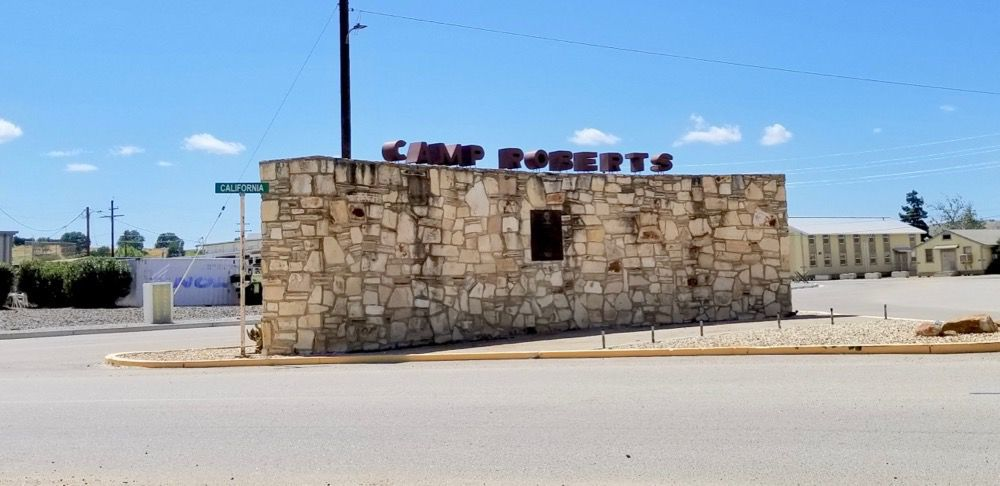 Camp Roberts Entrance