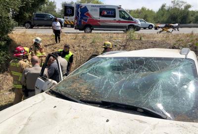 Los Carneros Road crash