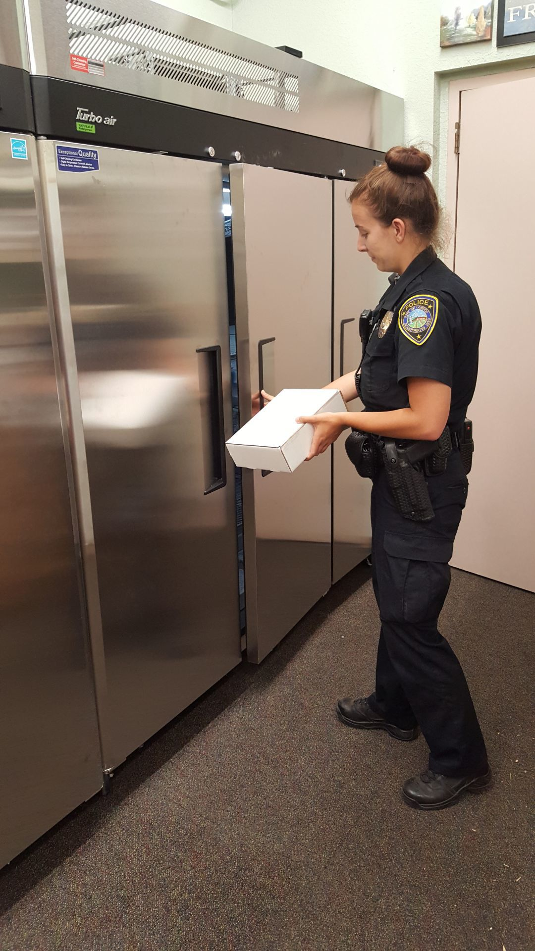 Lompoc Police DNA Fridge