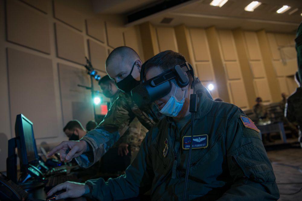 Virtual-reality headset