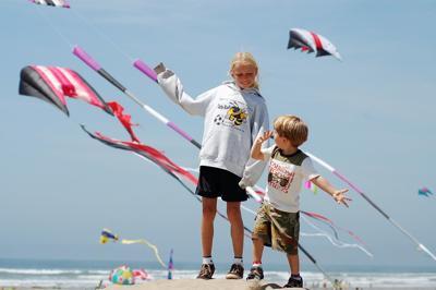 Squadron of Central Coast kites