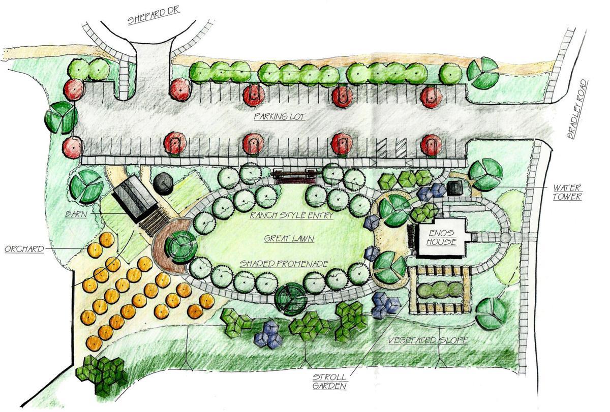 Enos Ranchos park plan