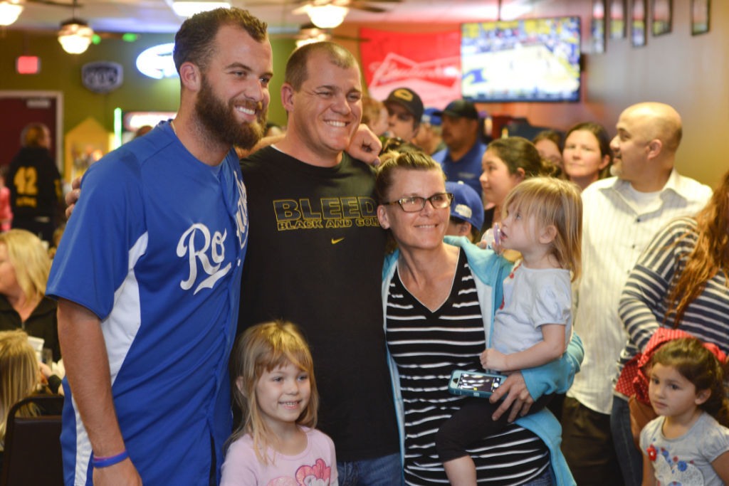 GALLERY: Danny Duffy connects with fans in Lompoc