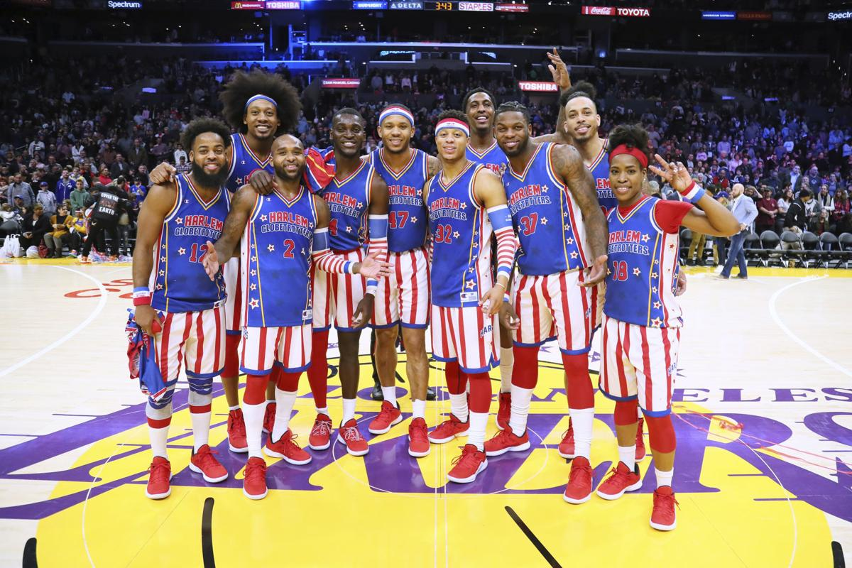 Celebrities at The Harlem Globetrotters Game - Feb. 17, 2019