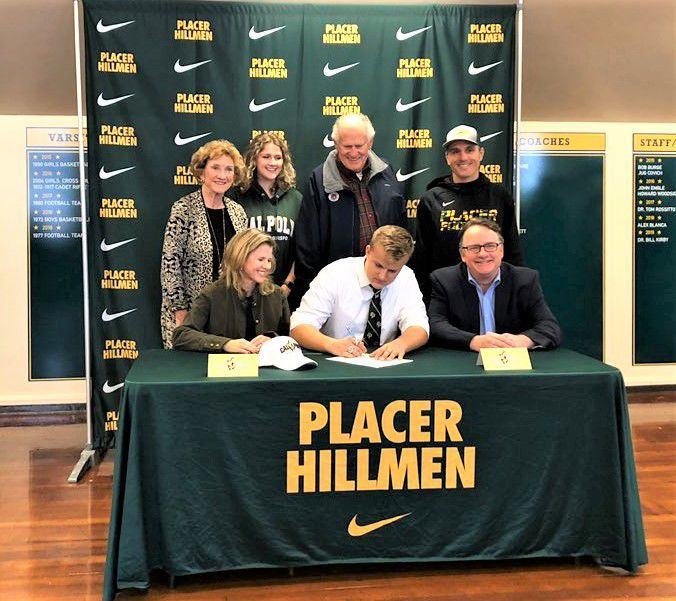 Kyle Christensen signs with Cal Poly