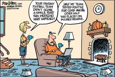 Editorial Cartoon: Fantasy