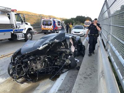 Highway 154 triple fatal crash, Camaro