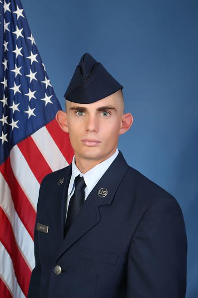 U.S. Air Force Airman Clay M. Muscio