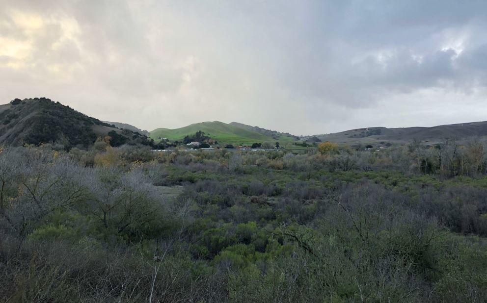 Castlerock view from Santa Rosa Road