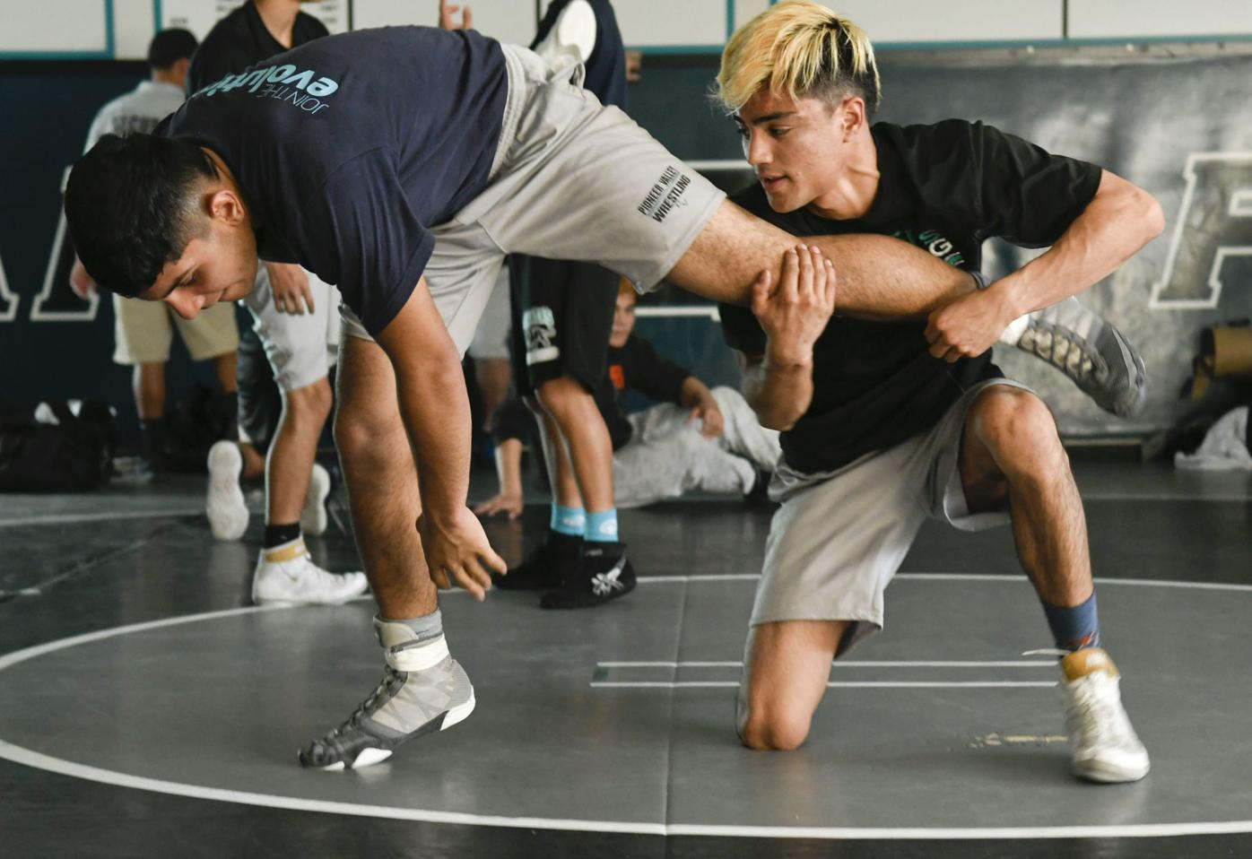 Pioneer Valley's boys wrestling team, with an assist, wins Division 2 title