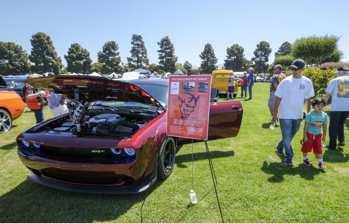 Car Enthusiasts Roll To Th Annual Santa Maria Elks Car Show - Car shows near me now