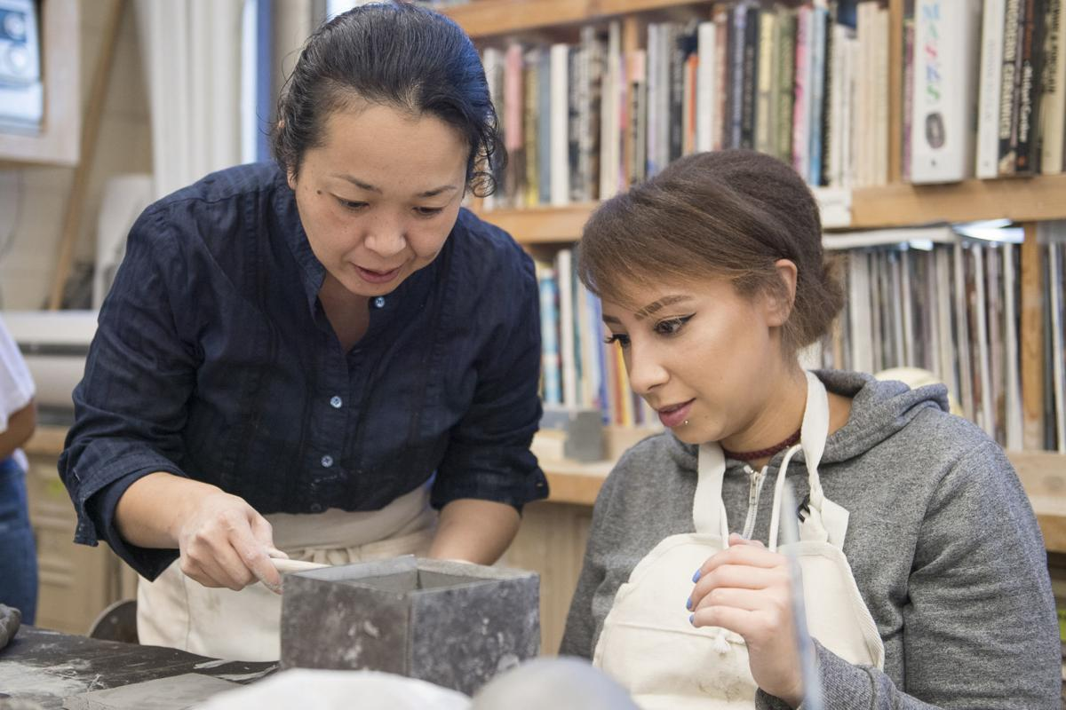 A love of clay: Hancock College's new ceramics instructor settling