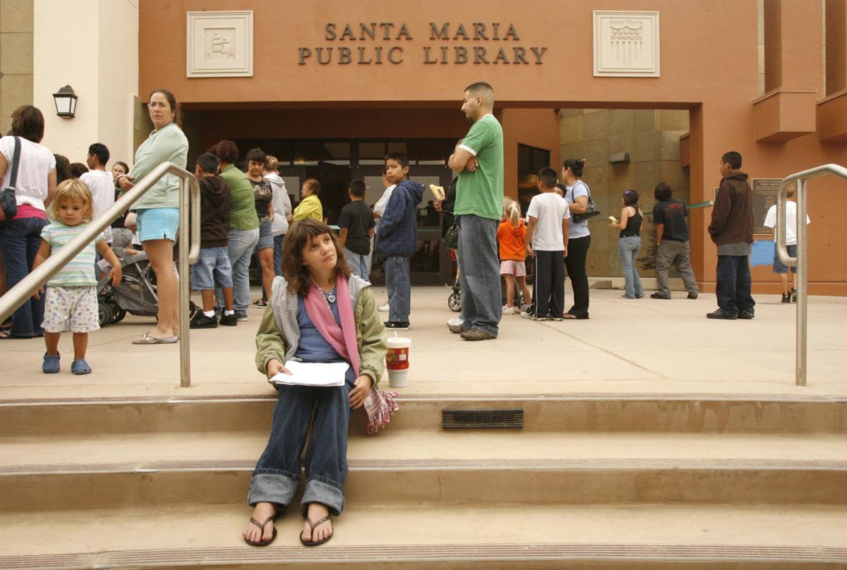Photos: Happy 10 year anniversary! Santa Maria Public Library from ...