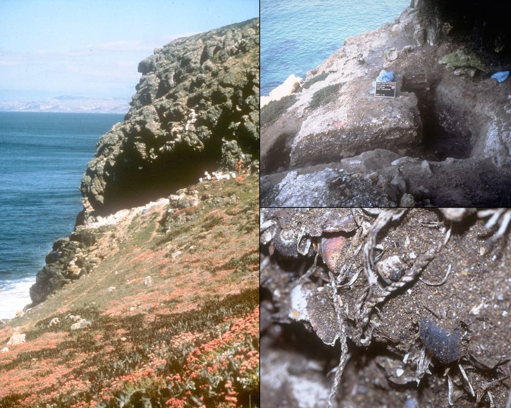San Miguel Island archeologic site