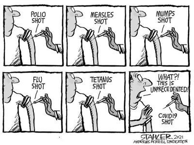 Editorial Cartoon: Unprecedented?
