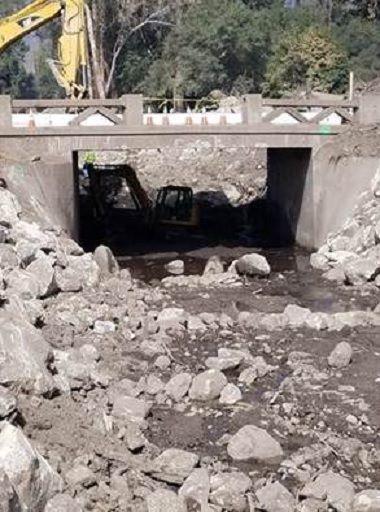 Highway 192 San Ysidro Creek Bridge