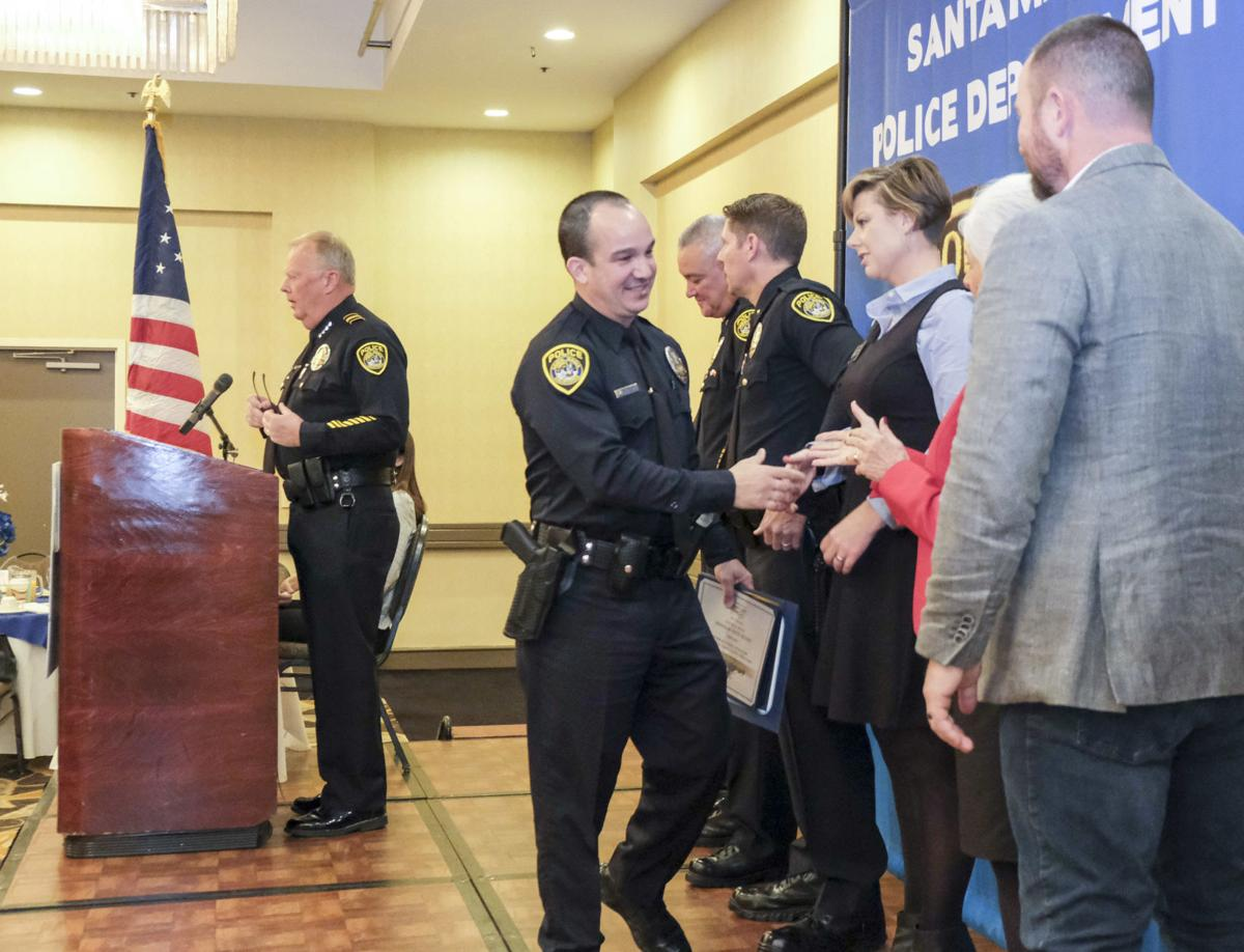 Outstanding service: Santa Maria Police officials honored at