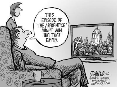 Editorial Cartoon: Emmy