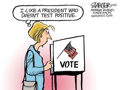 Editorial Cartoon: Vote