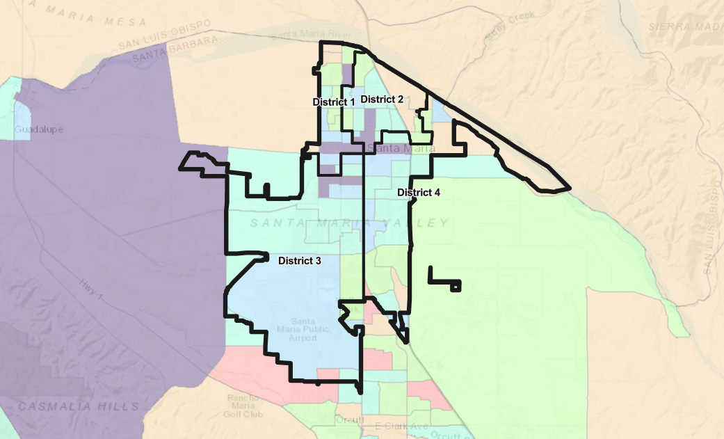 080621 Santa Maria districts map
