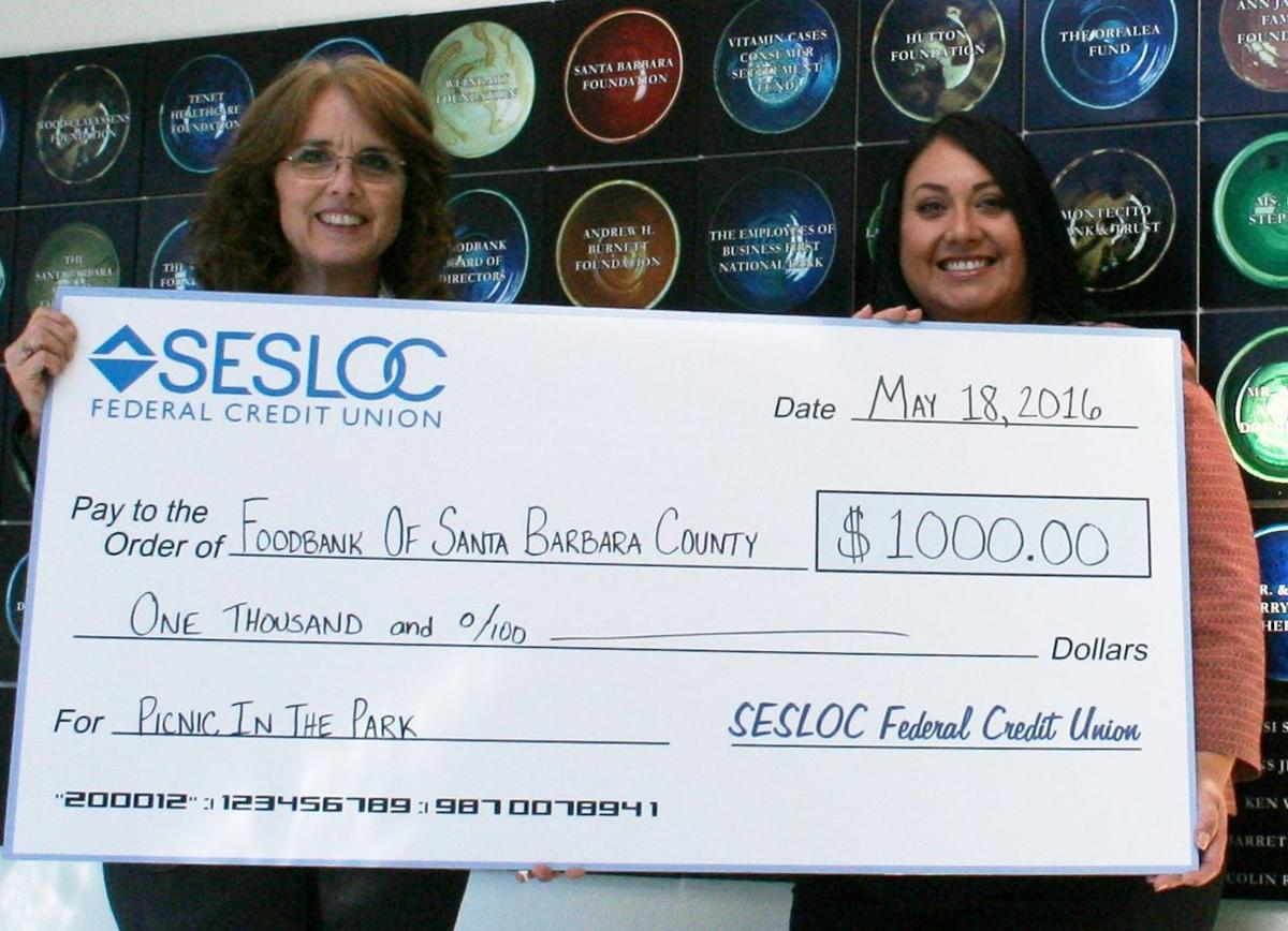 SESLOC donation to Picnic in the Park